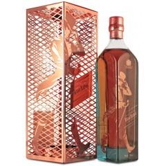 Johnnie Walker Blue Label 0,7L Tom Dixon (Джонни Уокер Блю Лэйбл 0,7 л Том Диксон) в подарочной упаковке Виски