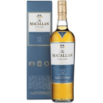 Macallan Fine Oak 12 years old 0,7L