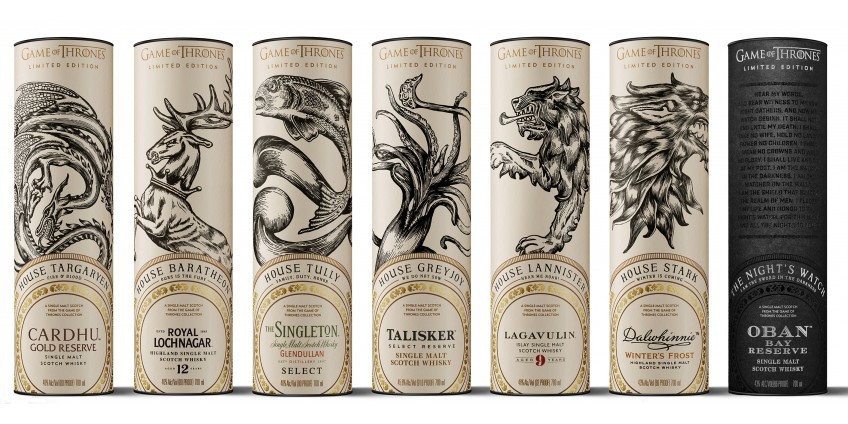 Новинка набор виски посвящённый игре престолов!