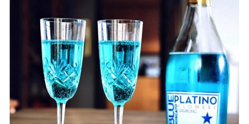 Голубое шампанское из Испании