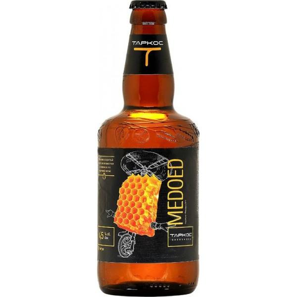 Пиво Таркос, Медоед (Tarkos, Medoed) 0.5 л купить по цене 124 руб. в  Москве, интернет-магазин Wine-Shopper