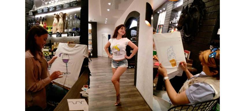 Мастер-класс по росписи футболок акриловыми красками