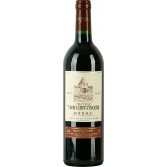 Chateau Tour Saint-Vincent Medoc, 2005 (Шато Тур Сент Винсент Медок, 2005) Красное вино